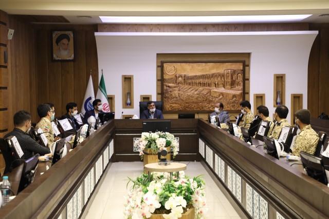 تجلیل از سربازان امریه شرکت آبفا استان اصفهان