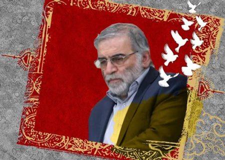 طواف پیکر مطهر دانشمند هستهای شهید محسن فخریزاده در حرم مطهر رضوی