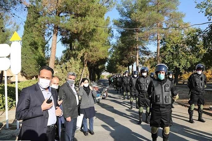 برگزاری رزمایش حفاظت از تاسیسات با حضور ۸۰۰ نفراز کارکنان آبفا