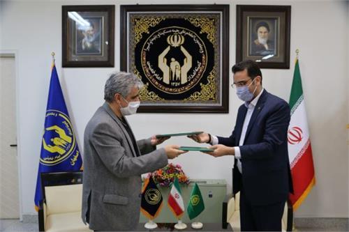 امضای تفاهمنامه همکاری کمیته امداد و نظام مهندسی کشاورزی استان اصفهان