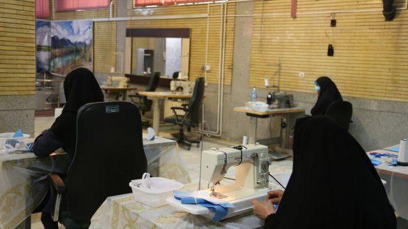 فعالیت چشمگیر بانوان بسیجی اصفهان در دوران کرونا