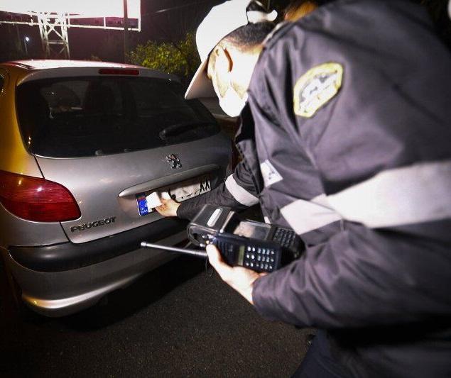 دستکاری و مخدوش کردن پلاک خودرو، خط قرمز پلیس