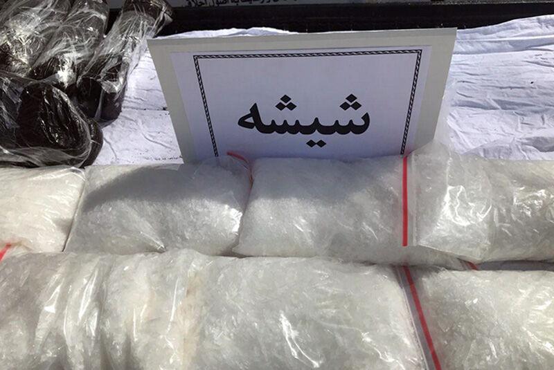کشف ۶ کیلو شیشه در اصفهان
