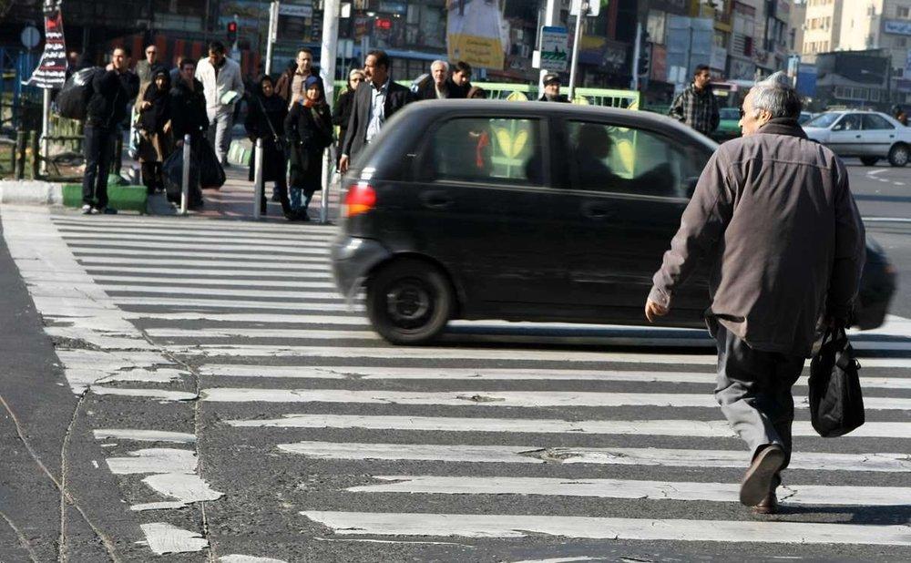 سهم ۲۹ درصدی عابران پیاده در جان باختگان تصادفات رانندگی