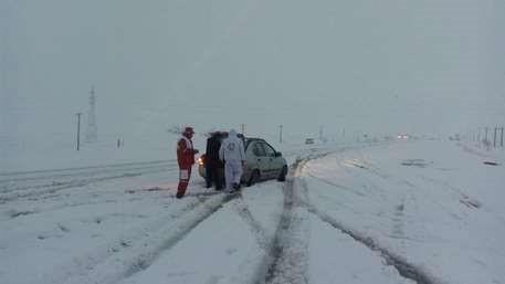 آغاز طرح امداد و نجات زمستانه هلالاحمر