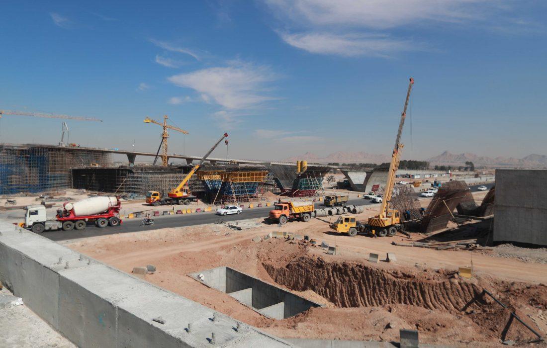 پیشرفت ۴۰ تا ۱۰۰ درصدی مجموعه پروژه های رینگ چهارم شهر اصفهان/ پروژه بزرگ تقاطع غیرهمسطح شهید سلیمانی ۲۰ درصد تا تکمیل نهایی فاصله دارد