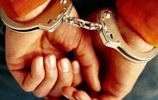 دستگیری سارق ۳۰ میلیاردی در پای پله های هواپیما