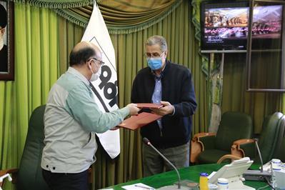 امضای تفاهم نامه همكاری بین فولاد مباركه و اتاق بازرگانی صنایع، معادن و كشاورزی تهران