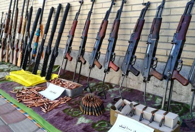 کشف ۴ قبضه اسلحه غیرمجاز در اصفهان