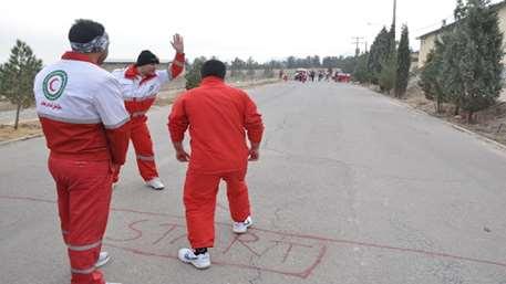 برگزاری آزمون درجه ایثار با حضور ۱۸۰ نفر از نجاتگران درجه نجاتگر یکم جمعیت هلال احمر اصفهان