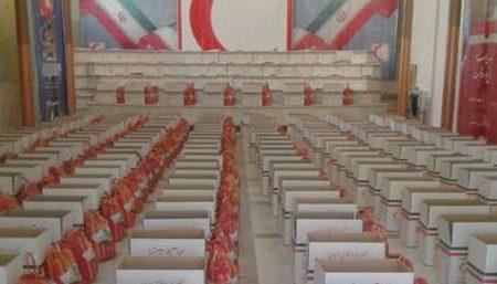 توزیع چهار هزار و ۲۰۰ سبد معیشتی ویژه متاثرین از کرونا در قالب طرح رحمت فاطمی در اصفهان