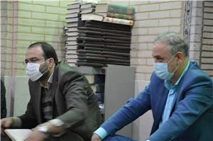 جلسه مدیرکل امورمالیاتی استان با هیات امناء بازار و با حضور نمایندگان مجلس شورای اسلامی