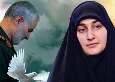 واکنش زینب سلیمانی به پایان رژیم ترامپ/زندگی را در ترس به سر خواهی برد