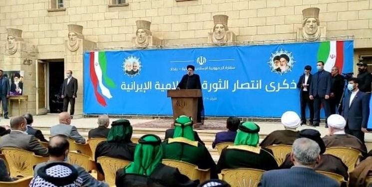 جریان مقاومت اجازه نفوذ آمریکاییها را در منطقه نخواهد داد/ ایران خواهان عراقی قوی و مستقل است