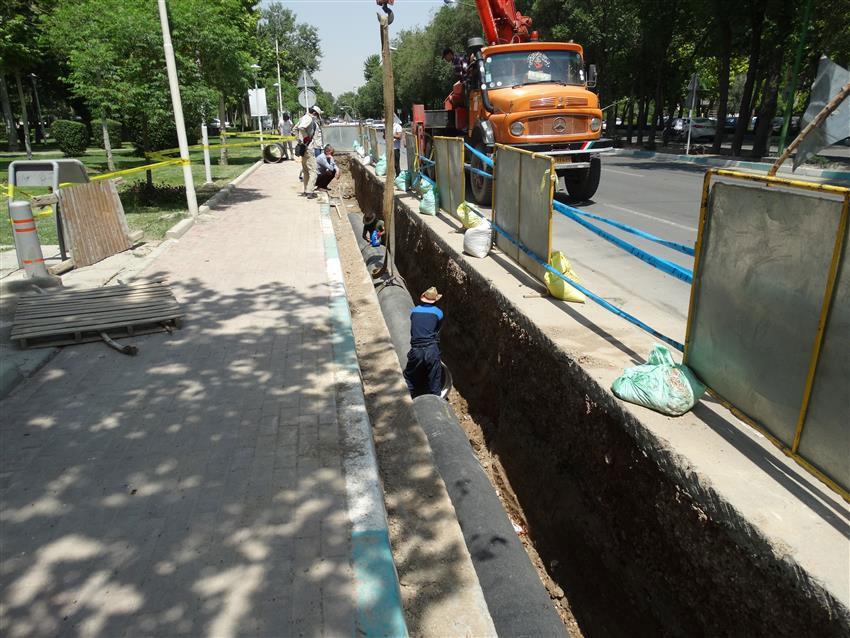 شبکه آب بافت تاریخی اصفهان بهسازی میشود