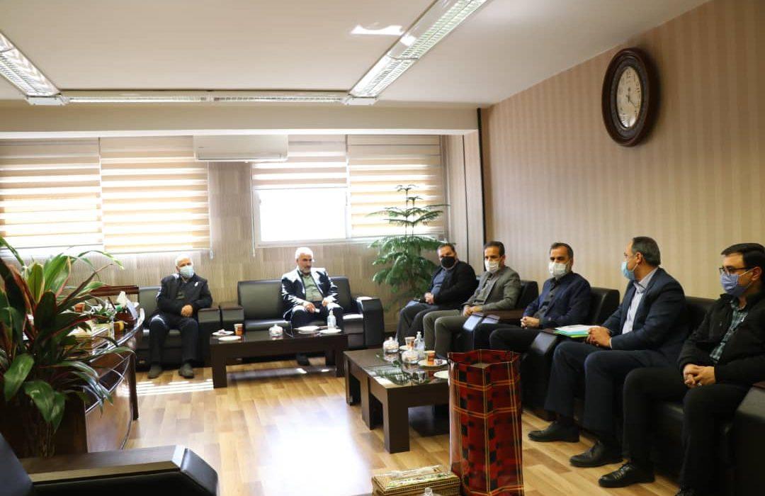 دیدار سرپرست مخابرات منطقه اصفهان با اعضای هیئت مدیره شرکت تعاونی مصرف کارکنان