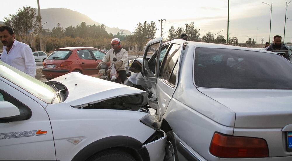 برخورد شدید پلیس با صحنه سازی در تصادفات