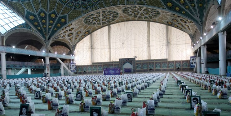 توزیع ۸۰۰۰ بسته معیشتی توسط ادارهکل اوقاف اصفهان در ماه رمضان