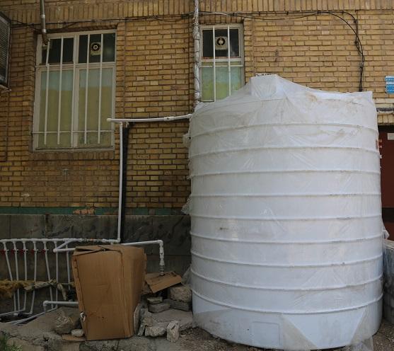 مخازن ذخیره آب خانگی را به صورت ماهیانه شست وشو کنید