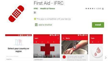 اپلیکیشنی برای امدادهای فوری / نسخه موبایلی کمک های اولیه در گوگل پلی نیز در دسترس قرار گرفت